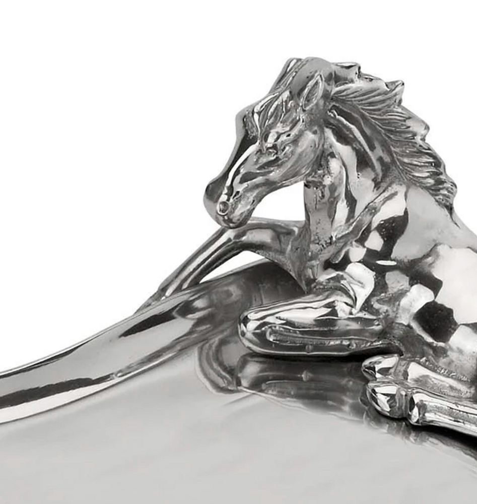 Horse Oblong Serving Tray | Arthur Court Designs | 103832