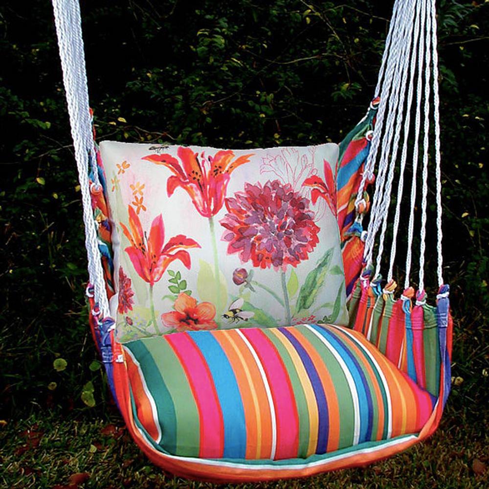 Flower Hammock Chair Swing Le Jardin Magnolia Casual