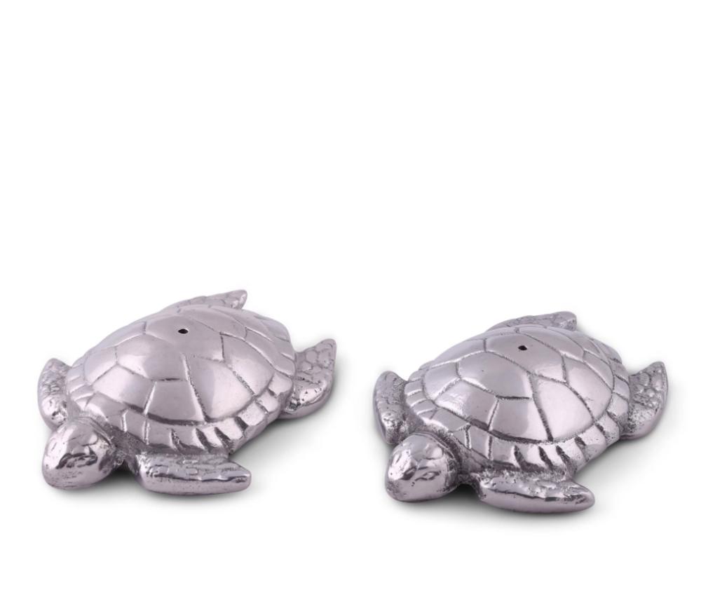 Sea Turtle Salt Pepper Shakers | Arthur Court Designs | 103914