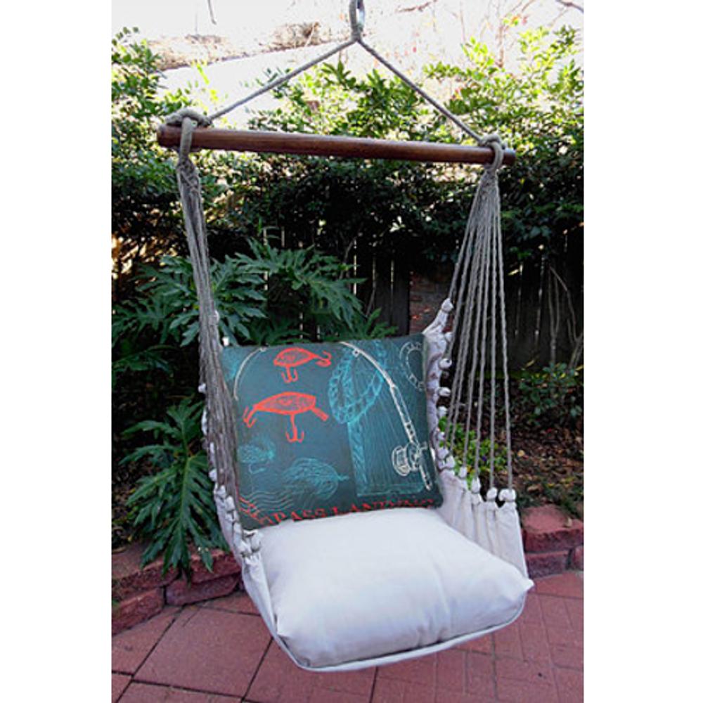 "Rod and Reel Hammock Chair Swing ""Latte"""