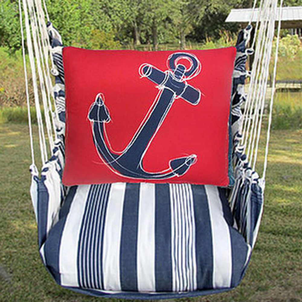 "Anchor Hammock Chair Swing ""Marina"" 