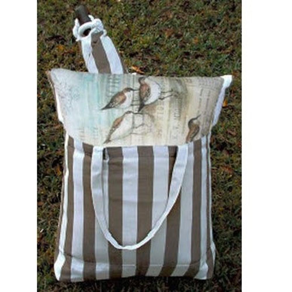 "Jack Rabbit Hammock Chair Swing ""Striped Chocolate"" | Magnolia Casual | SCRR709-SP-3"