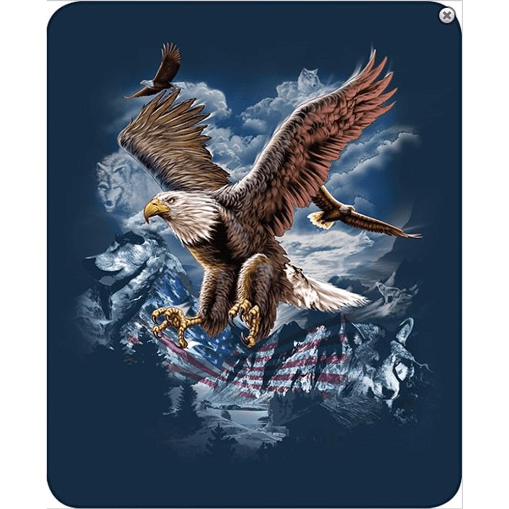 Eagle USA Faux-Mink Blanket | DB5211-2
