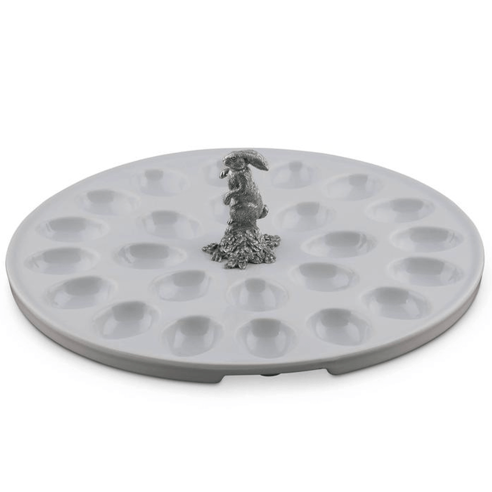 Rabbit Standing Deviled Egg Tray | Vagabond House | VHCG302SR -4