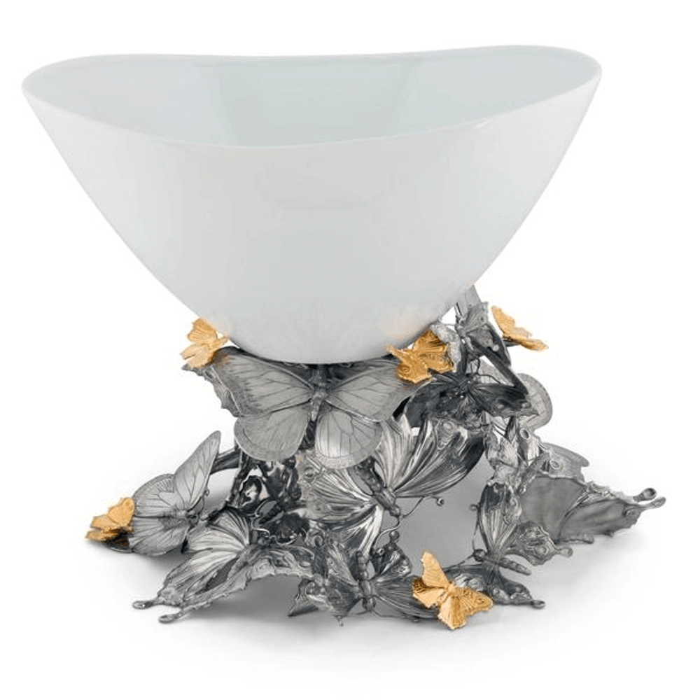 Butterfly Centerpiece Bowl | Vagabond House | VHCG375BF -3
