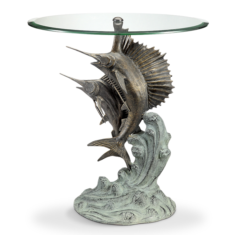 Marlin and Sailfish End Table | 34819 | SPI Home
