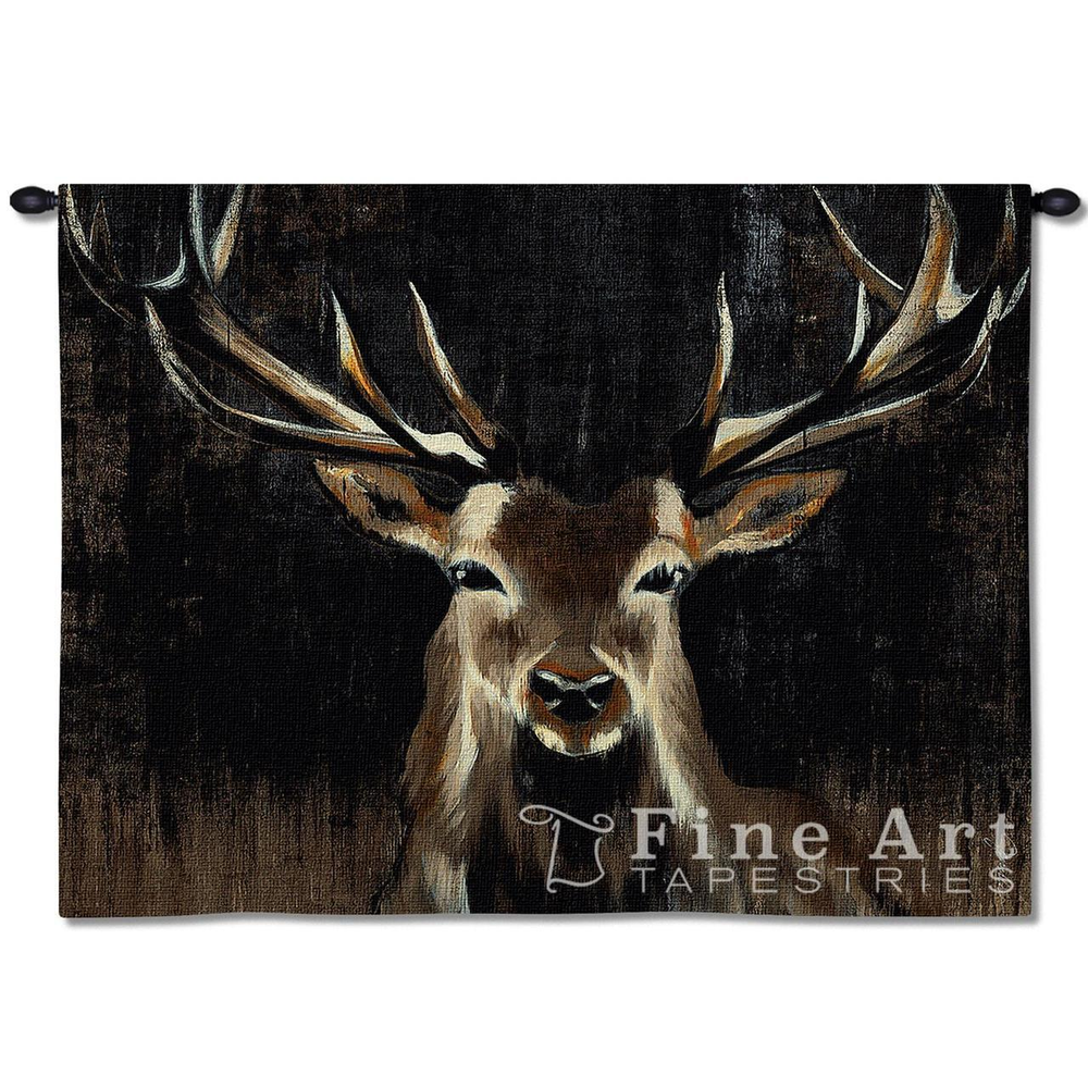 """Deer Tapestry Wall Hanging """"Young Buck"""" 