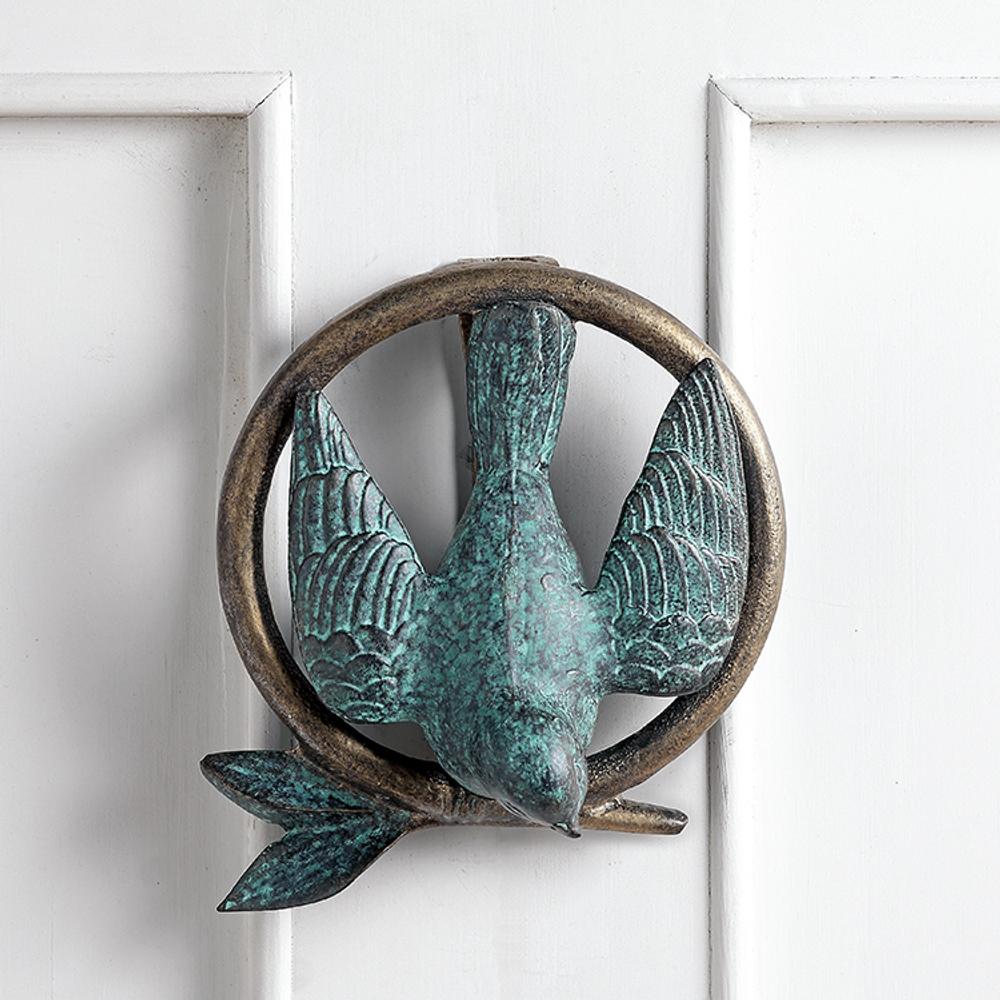 Bird and Branch Door Knocker | SPI Home | 34806