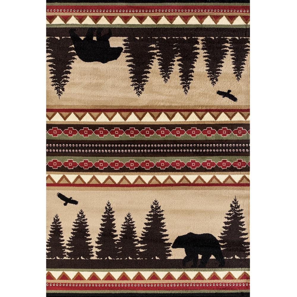 "Bear Area Rug ""Woodside"" | United Weavers | 712-30426"