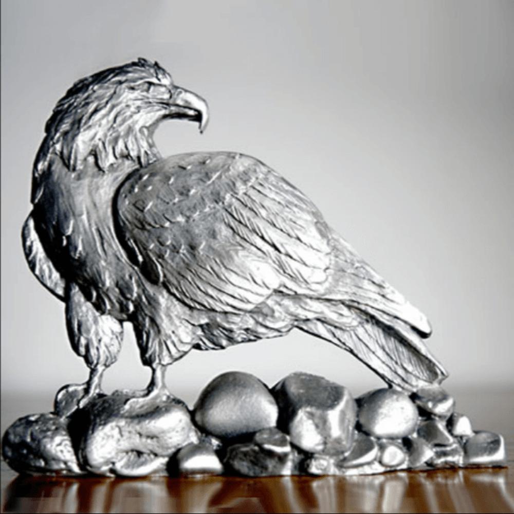 Bald Eagle Pewter Figurine | Andy Schumann | SCH125111 -2