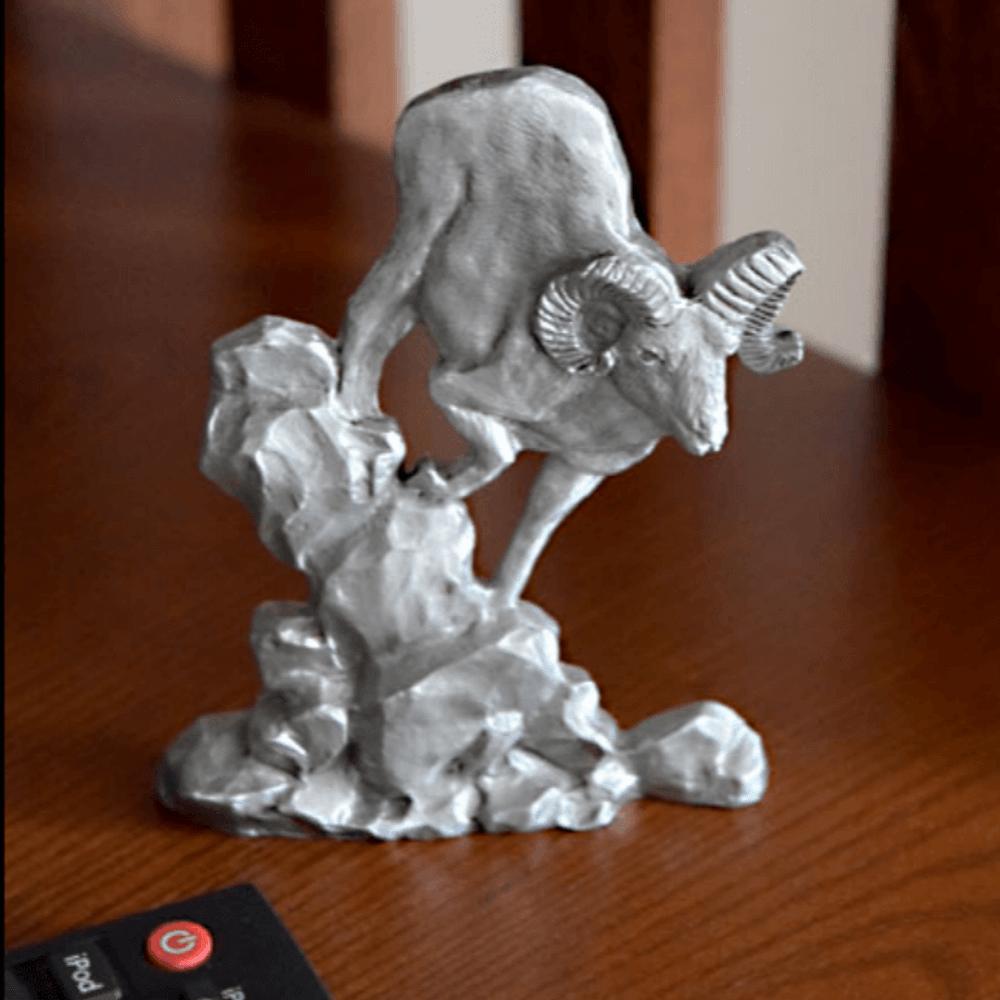 Big Horn Sheep Pewter Figurine | Andy Schumann | SCH125104