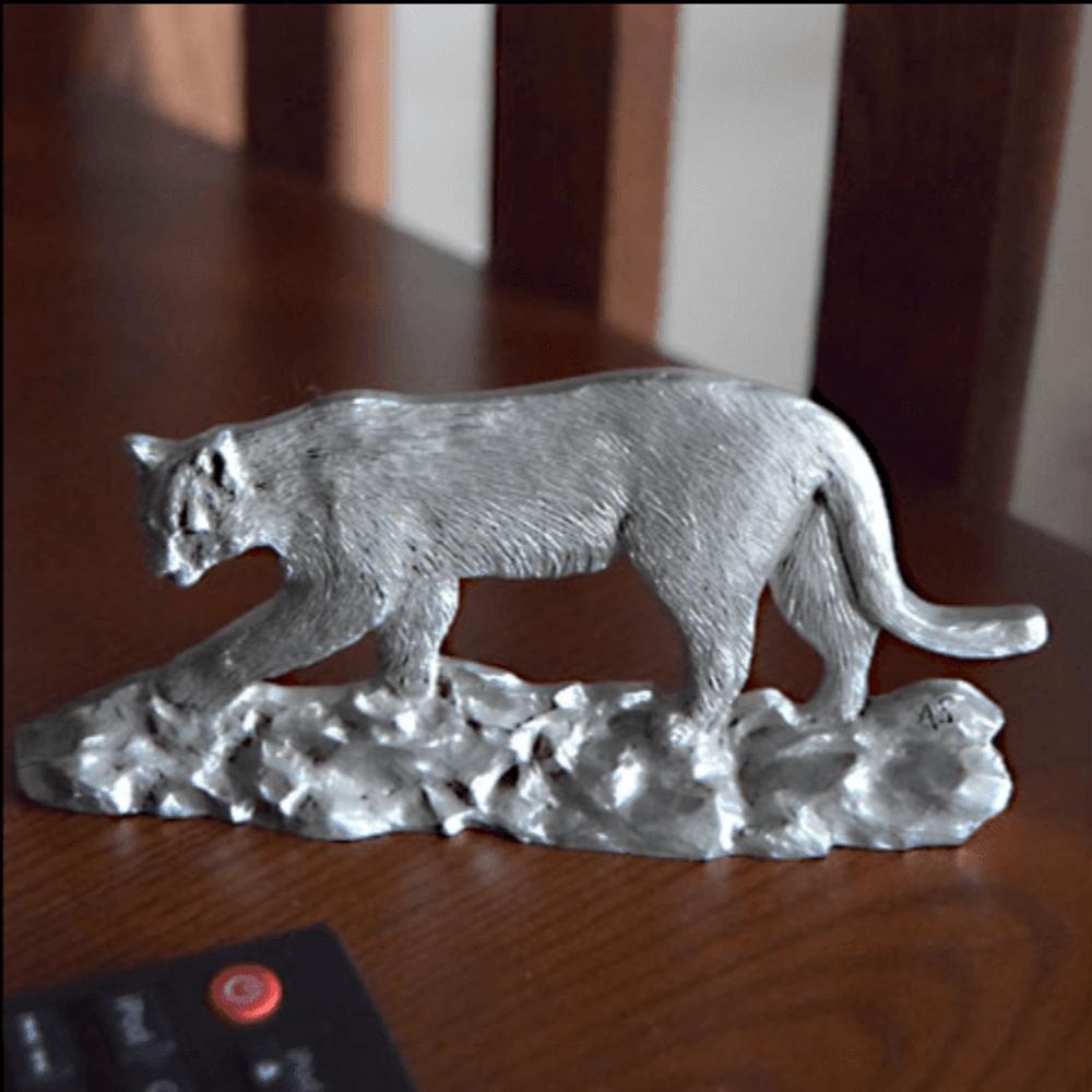 Cougar Pewter Figurine | Andy Schumann | SCH125108