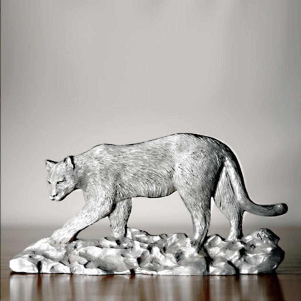 Cougar Pewter Figurine | Andy Schumann | SCH125108 -2