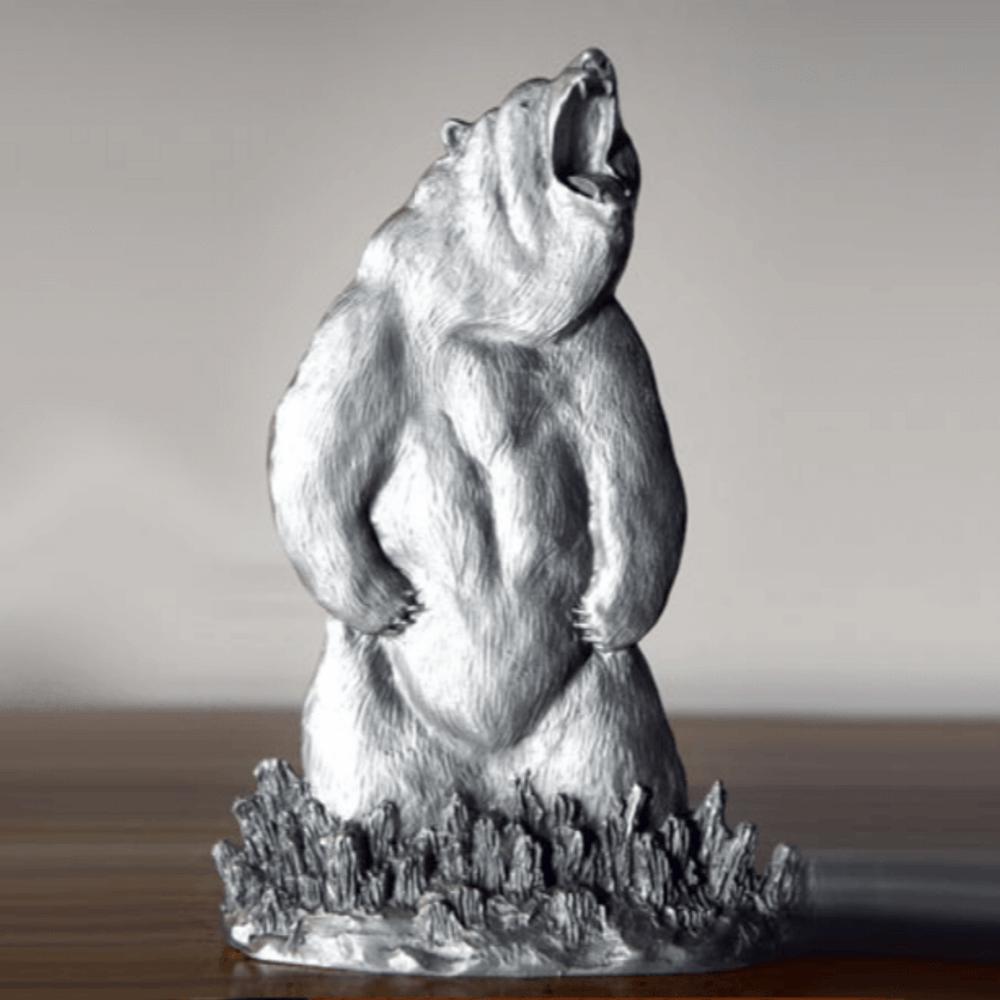 Grizzly Bear Pewter Figurine | Andy Schumann | SCH125103 -2