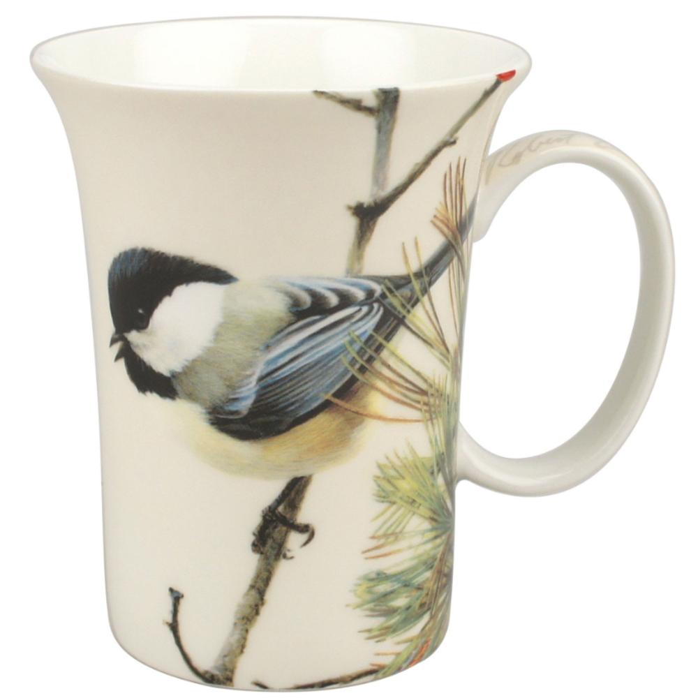 Chickadee Bone China Mug | McIntosh Trading Chickadee Mug | Robert Bateman Lively Pair Mug