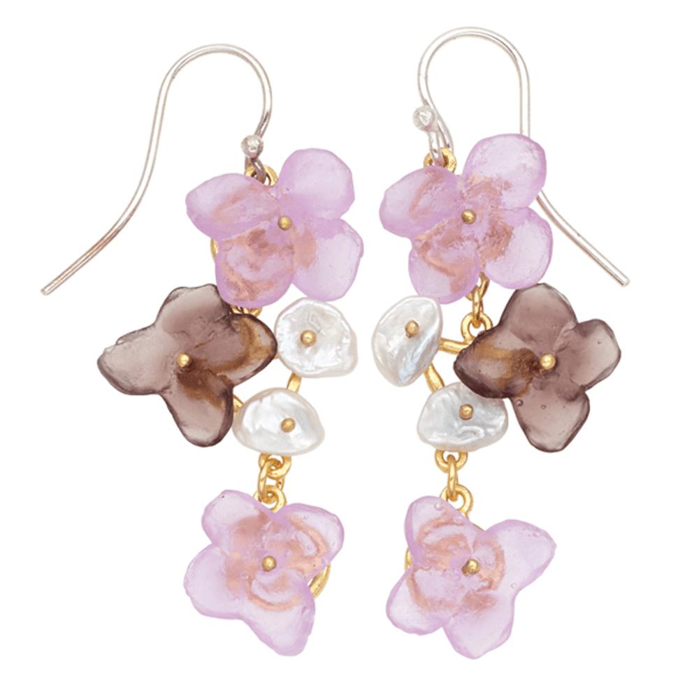 French Bouquet Wire Earrings | Michael Michaud Jewelry | SS3313BZGWP