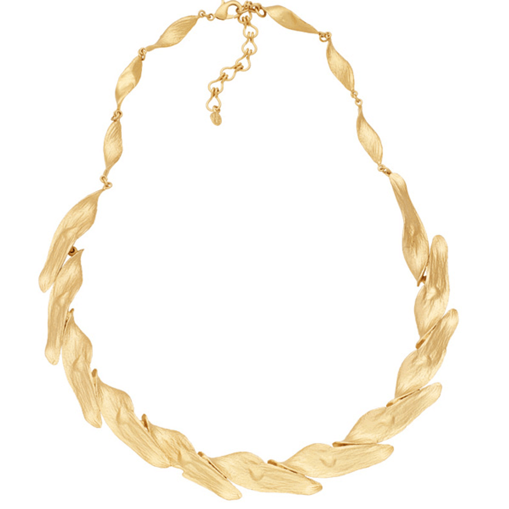 Honey Locust Collar Necklace | Michael Michaud Jewelry | SS9185BZG