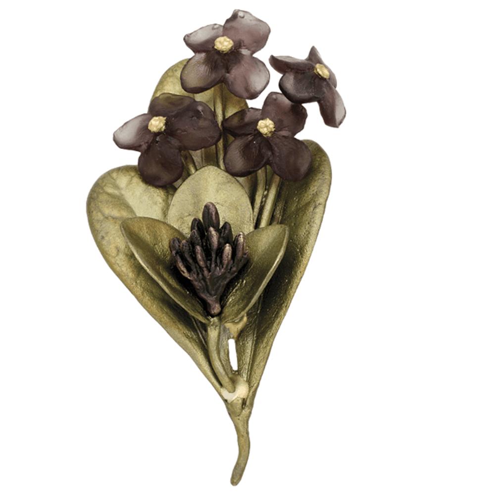 Wood of Life Pin | Michael Michaud Jewelry | SS5976BZ
