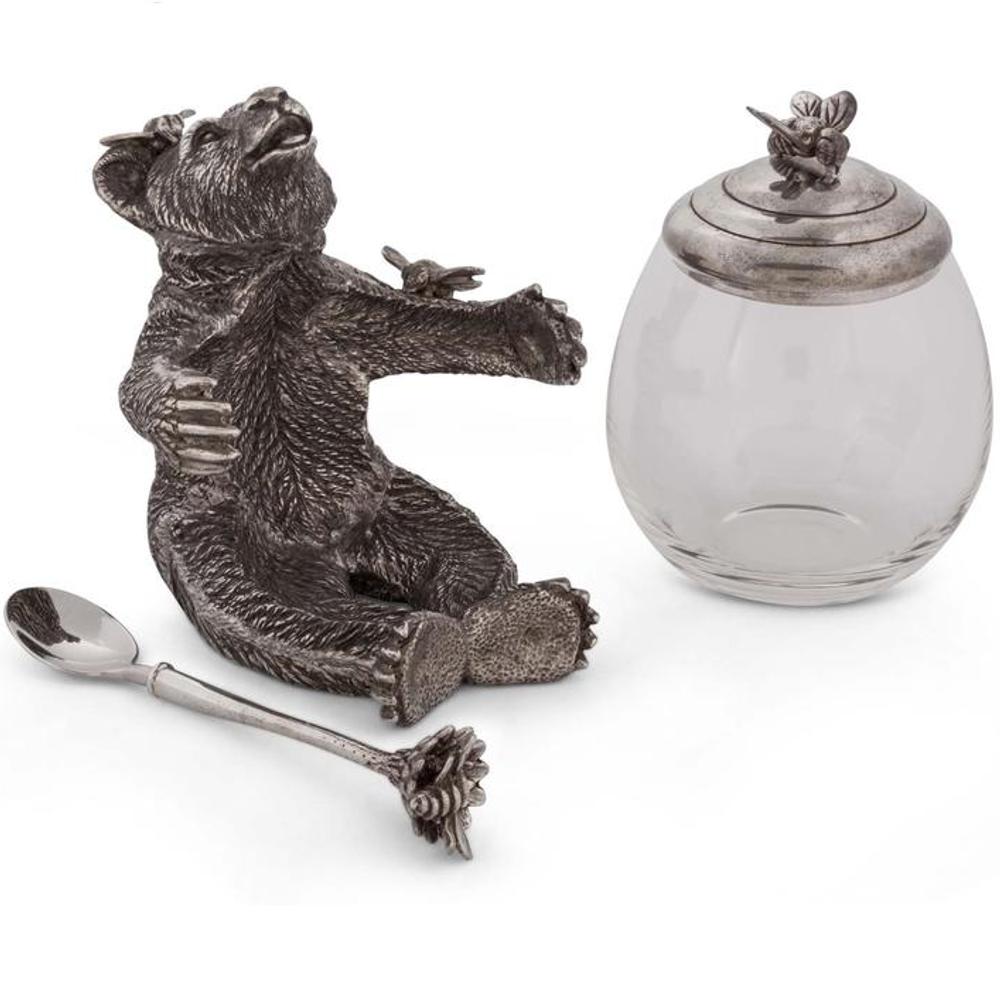 Bear Honey Pot | Vagabond House | B451H -3