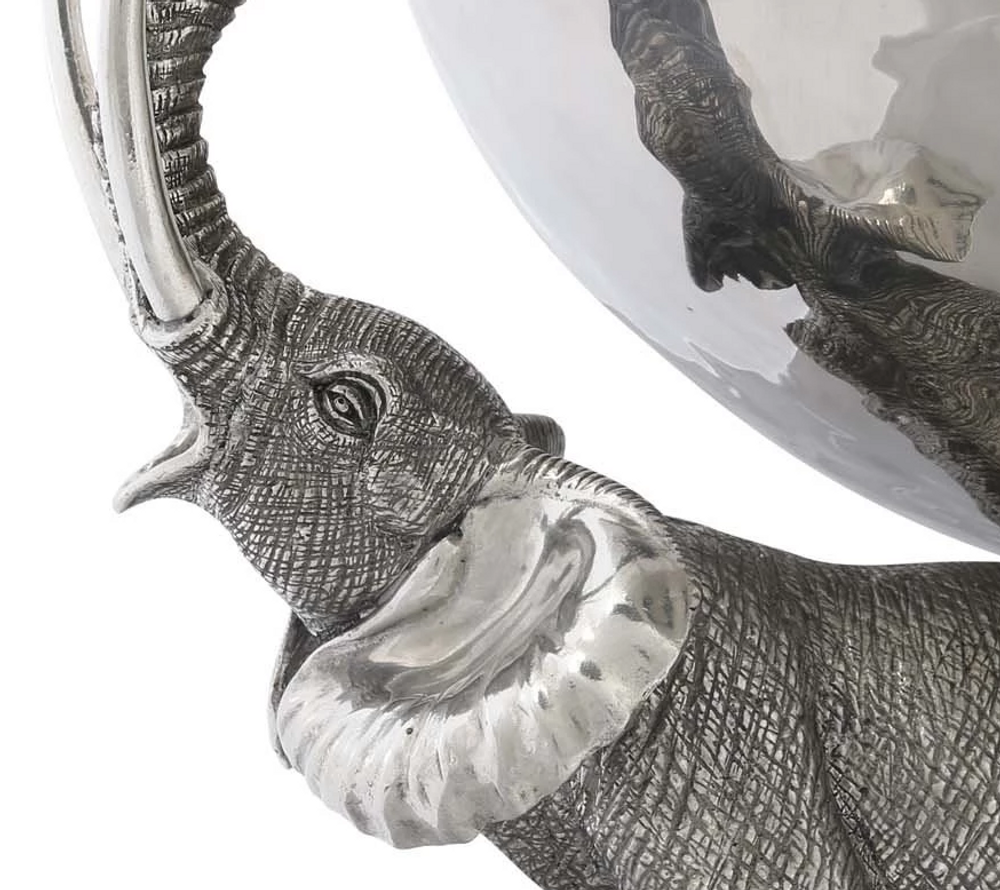 Elephant Trio Punch Bowl | Vagabond House | C818E