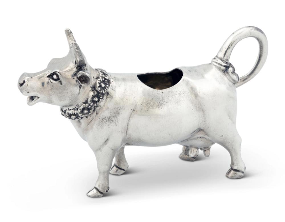 Pewter Cow Creamer | Vagabond House | G117M