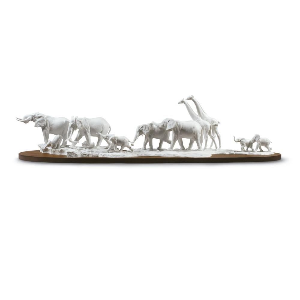 African Savannah Wild Animals Porcelain Sculpture | Lladro |01009275