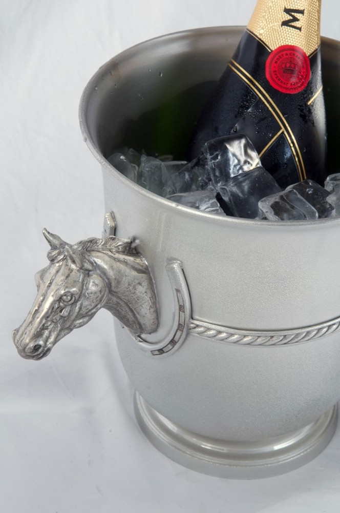 Thoroughbred Ice/Champagne Bucket | Vagabond House | H103B -2