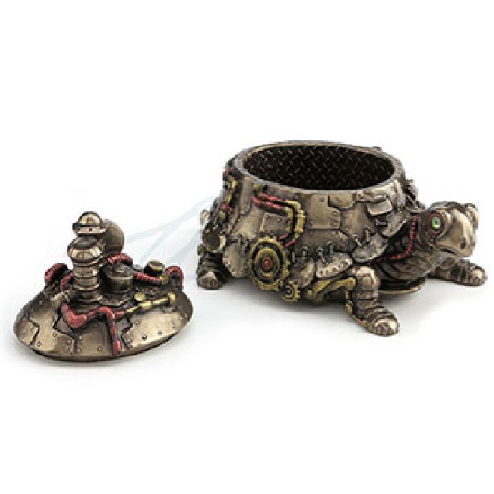 Tortoise Steampunk Trinket Box | Unicorn Studio | WU77389A4 -2