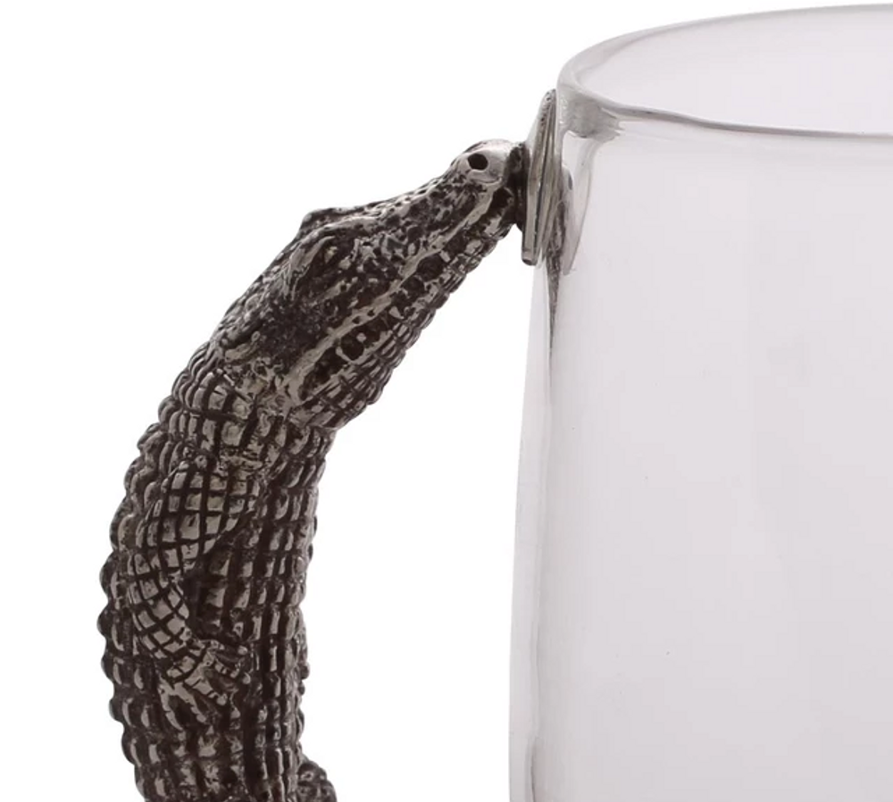 Alligator Beer Mug Set of 4  | Vagabond House | J452A-4