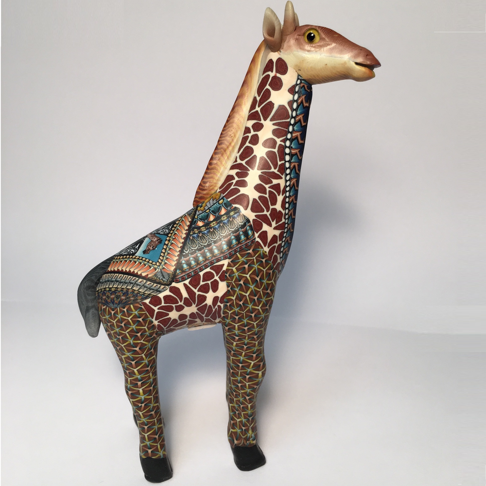 Giraffe Baby Figurine | FimoCreations | FGIB