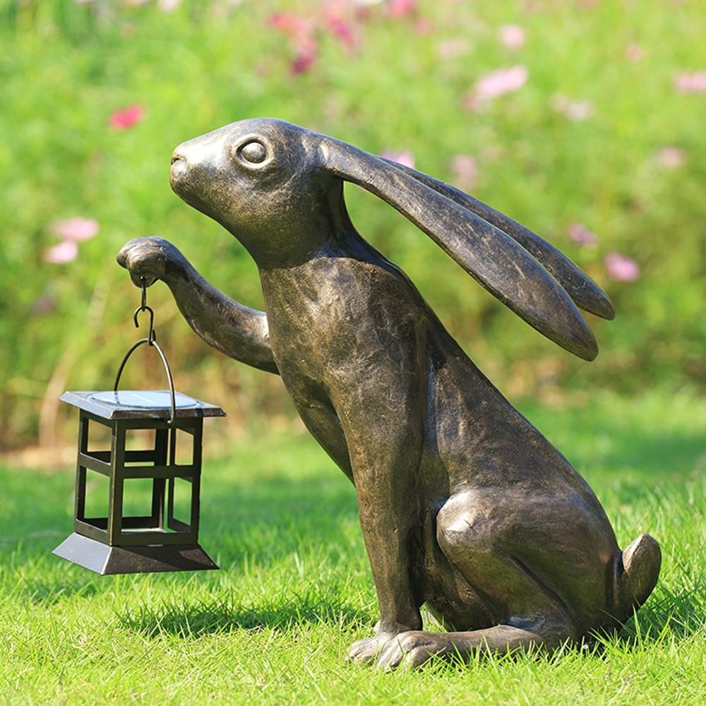 Big Bunny LED Garden Lantern   34872   SPI Home