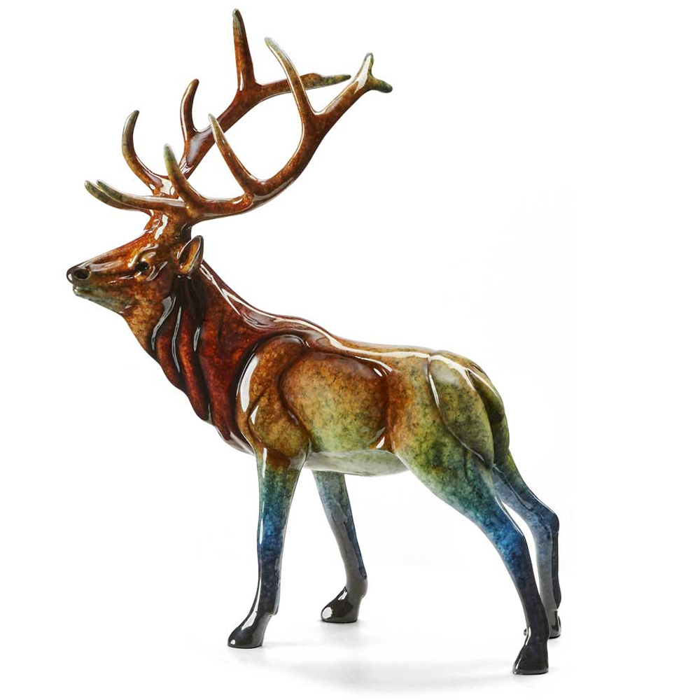 "Elk Sculpture Small Imago ""Aristocracy"" | 6567427666"