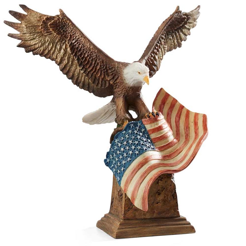 """Bald Eagle Sculpture """"Patriot""""   Mill Creek Studios   6567387732"""