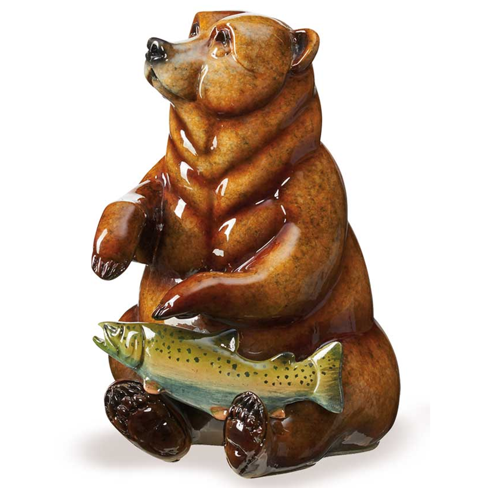 "Bear Sculpture Imago Topaz ""Finders Keepers"" | Mill Creek Studios | 6567430275"