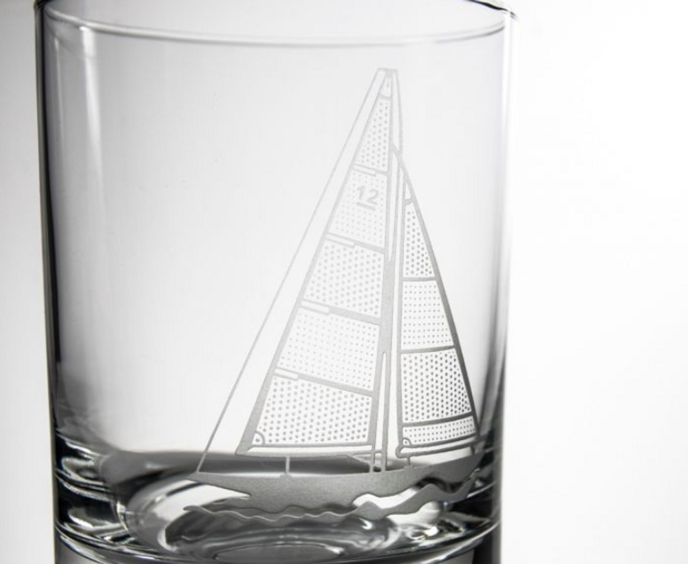 Sailboat Engraved Whiskey Decanter Gift Set | Rolf Glass | 222905