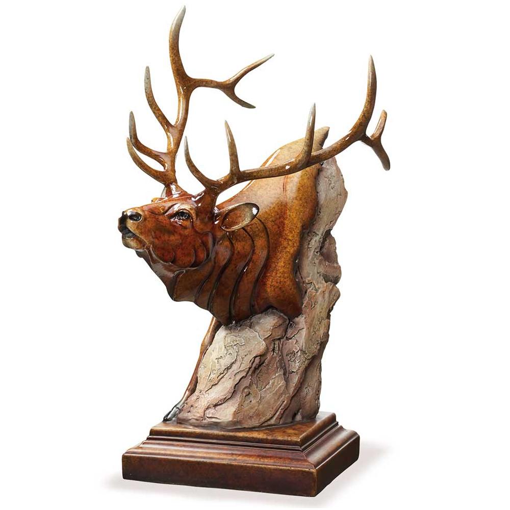 "Elk Sculpture Imago ""Power Play"" | Mill Creek Studios | 6567429666"