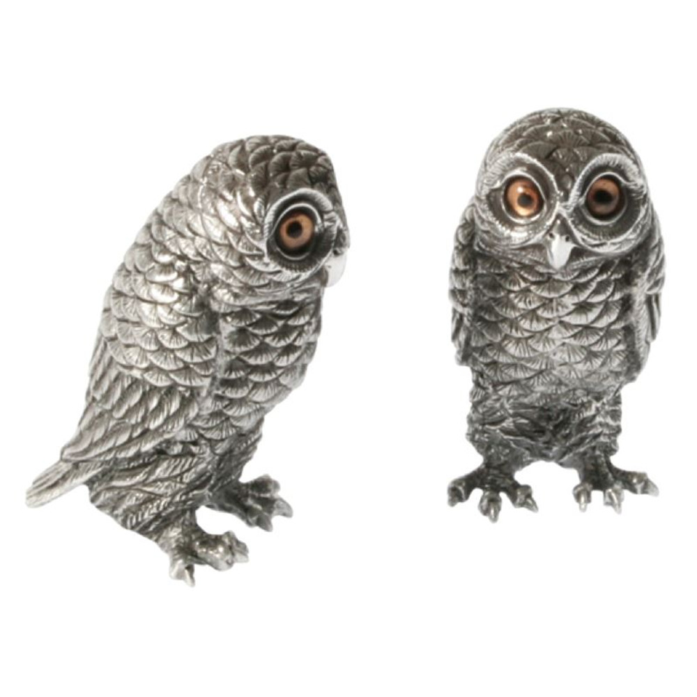 Owl Salt Pepper Shakers   Vagabond House   K116O