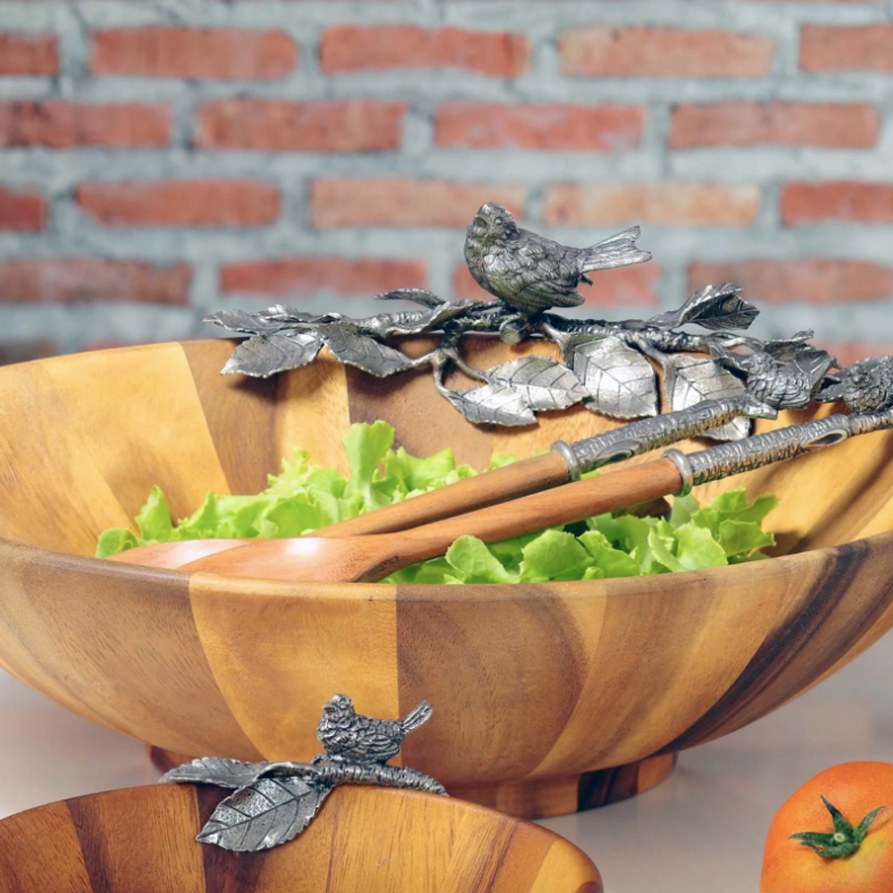 Song Bird Salad Bowl   Vagabond House   K212BL
