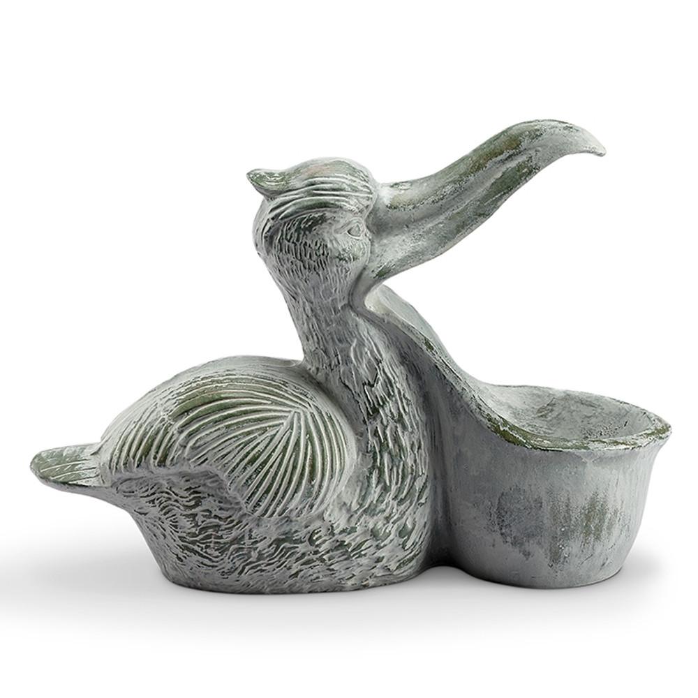 Pelican Sculptural Birdfeeder | 34913 | SPI Home
