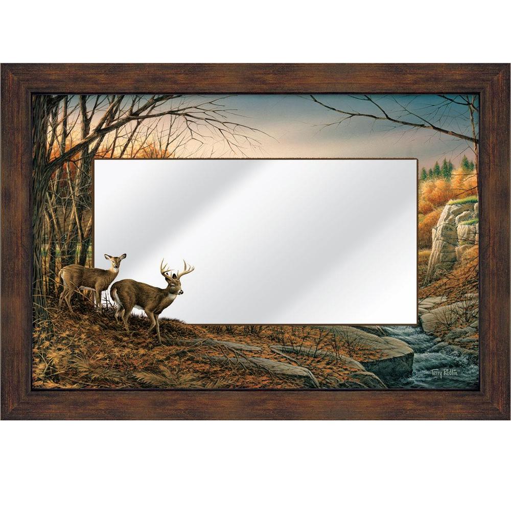 """Deer Decorative Mirror """"Indian Summer""""   5386493046"""