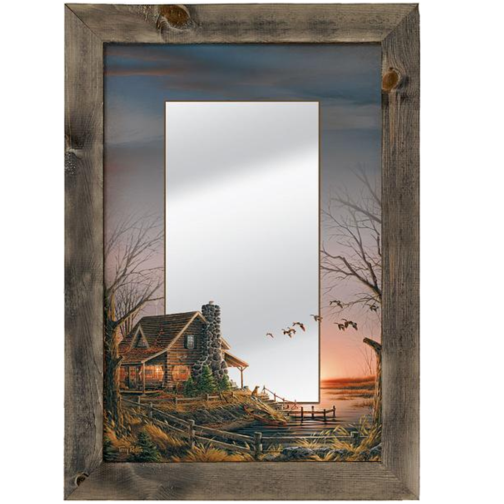 "Geese Decorative Mirror ""Comforts of Home"" 