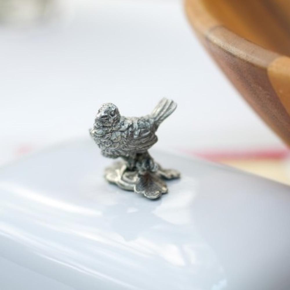 Song Bird Butter Dish | Vagabond House | K340B -2