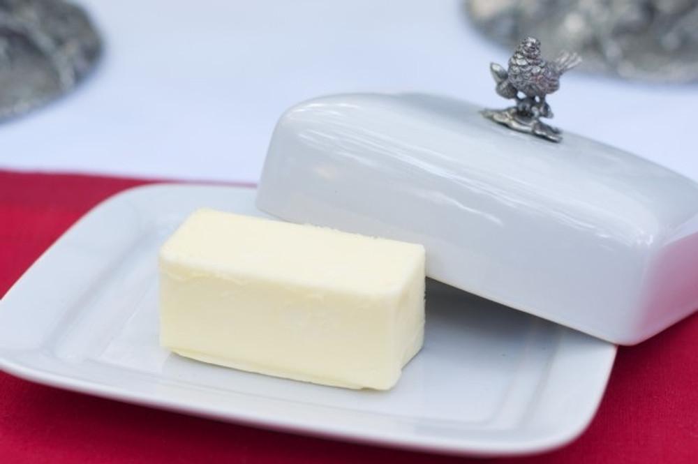 Song Bird Butter Dish | Vagabond House | K340B -3