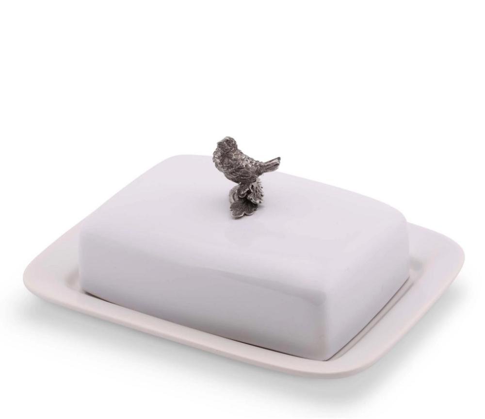 Song Bird Butter Dish | Vagabond House | K340B