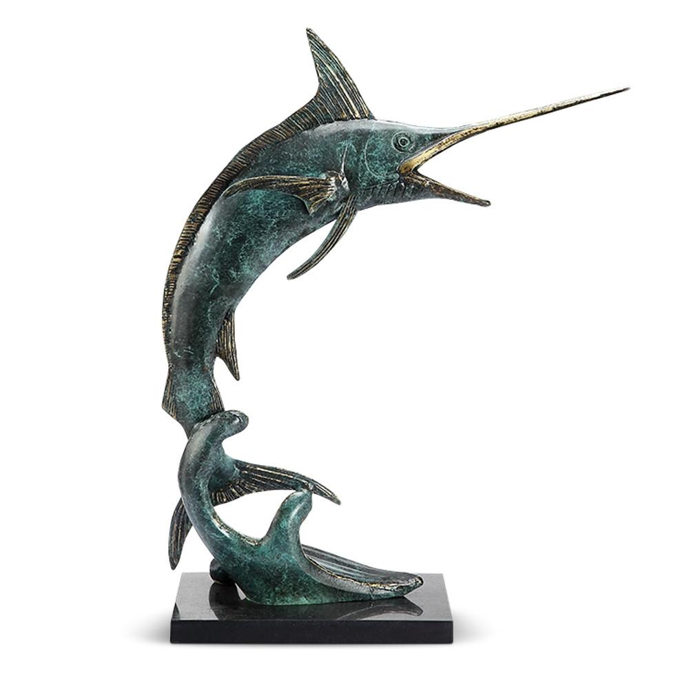 Predatory Marlin Sculpture | 51086 | SPI Home