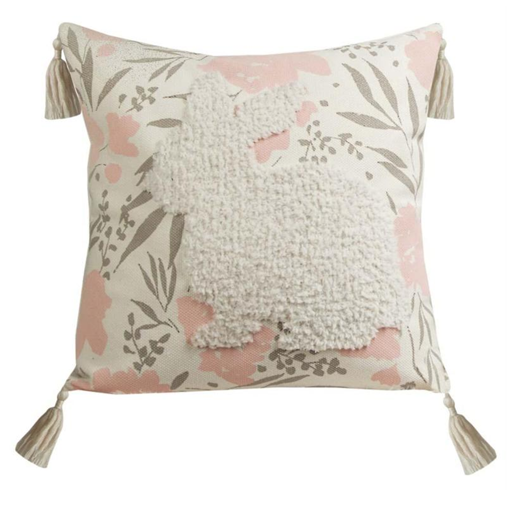 Bunny Tufted Throw Pillow | IPGSEB