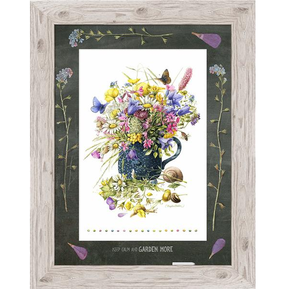"""Butterfly Framed Print """"Speckled Blues"""" 