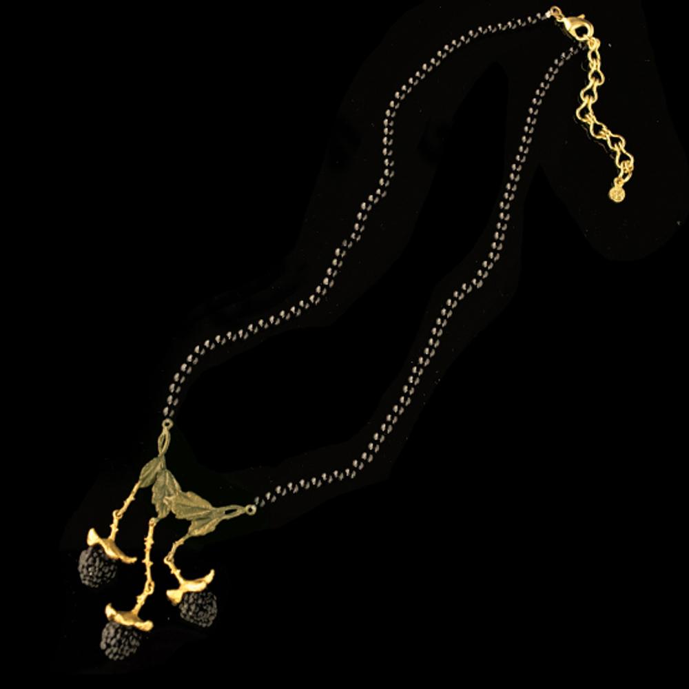 Blackberry Onyx Necklace | Michael Michaud | Nature Jewelry | 9227BZ