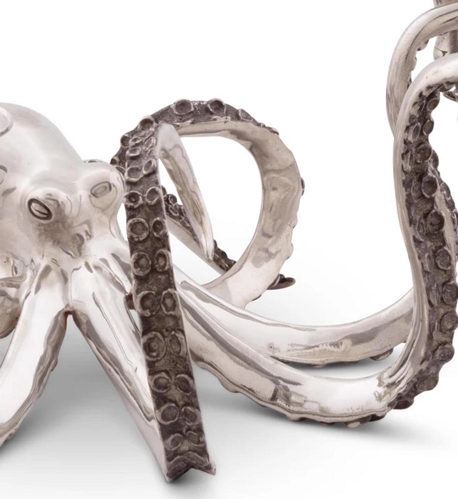 Octopus 4 Socket Candelabrum Candle Holder | Vagabond House | O101X