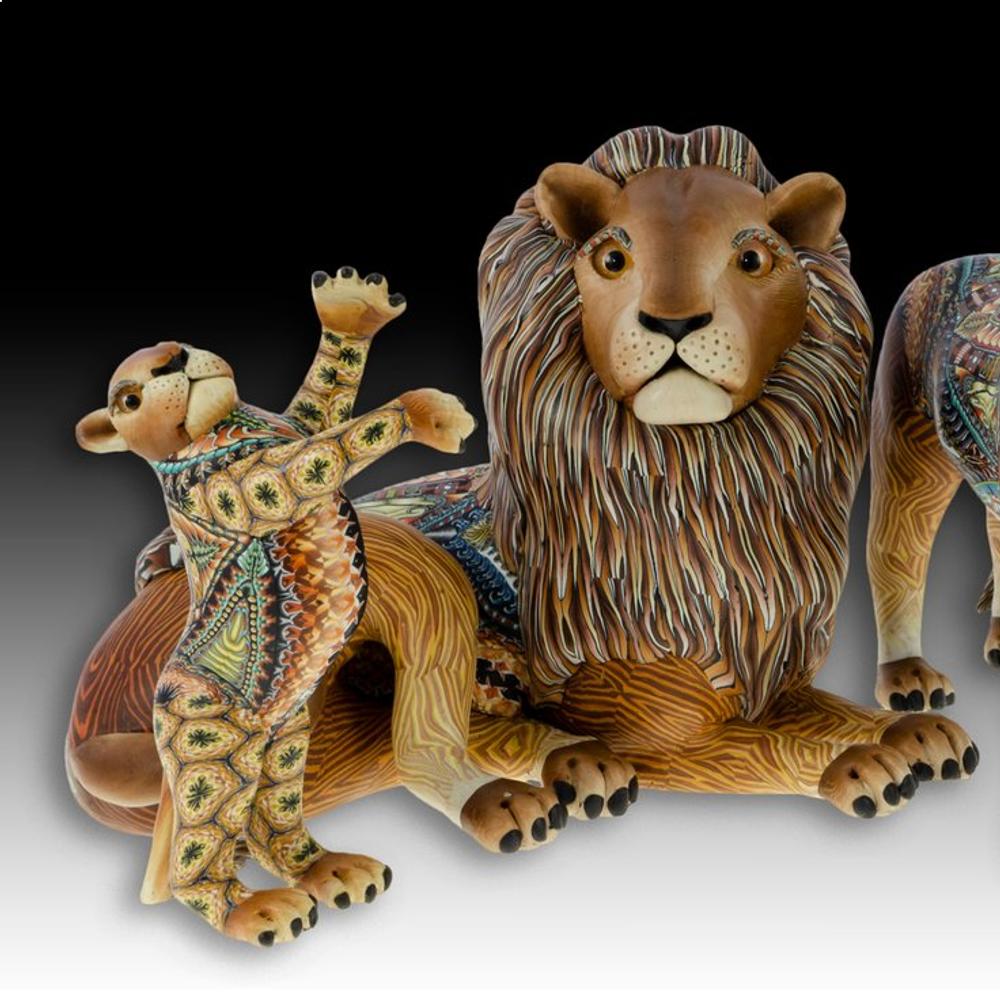 Lion Papa Figurine | FimoCreations | FCFLIP
